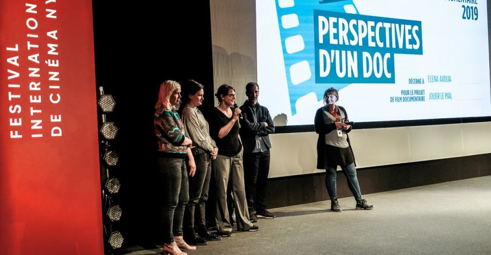 """Acting pain"" wins ""Perspectives d'un doc"""